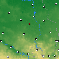 Nearby Forecast Locations - Hoyerswerda - Χάρτης