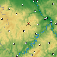 Nearby Forecast Locations - Nürburg - Χάρτης