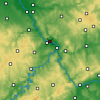 Nearby Forecast Locations - Neuwied - Χάρτης