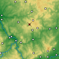Nearby Forecast Locations - Westerwald - Χάρτης
