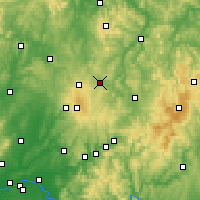 Nearby Forecast Locations - Lauterbach - Χάρτης