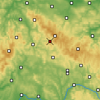 Nearby Forecast Locations - Suhl - Χάρτης