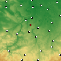 Nearby Forecast Locations - Osterfeld - Χάρτης