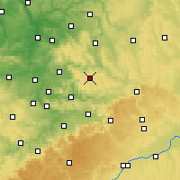 Nearby Forecast Locations - Kaisersbach - Χάρτης