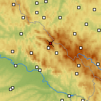 Nearby Forecast Locations - Großer Arber - Χάρτης