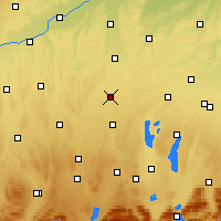 Nearby Forecast Locations - Lechfeld - Χάρτης