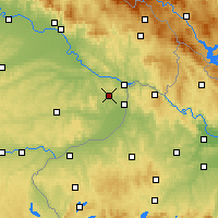 Nearby Forecast Locations - Fürstenzell - Χάρτης