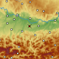 Nearby Forecast Locations - Kematen - Χάρτης