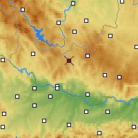 Nearby Forecast Locations - Freistadt - Χάρτης