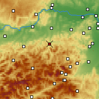 Nearby Forecast Locations - Lilienfeld - Χάρτης
