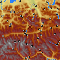 Nearby Forecast Locations - Maria Alm - Χάρτης