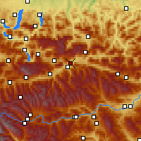Nearby Forecast Locations - Liezen - Χάρτης