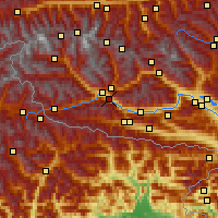 Nearby Forecast Locations - Lavant - Χάρτης