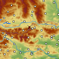 Nearby Forecast Locations - Feistritz ob Bleiburg - Χάρτης
