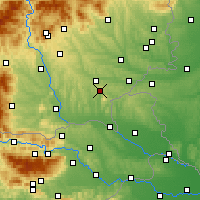 Nearby Forecast Locations - Bad Gleichenberg - Χάρτης