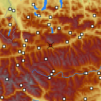Nearby Forecast Locations - Ramsau am Dachstein - Χάρτης
