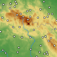 Nearby Forecast Locations - Krkonoše - Χάρτης