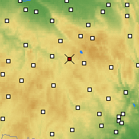 Nearby Forecast Locations - Přibyslav - Χάρτης