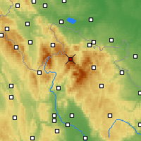 Nearby Forecast Locations - Šerák - ������