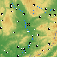 Nearby Forecast Locations - Přerov - Χάρτης