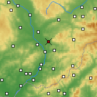 Nearby Forecast Locations - Holešov - Χάρτης