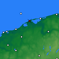 Nearby Forecast Locations - Czołpino - Χάρτης