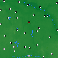 Nearby Forecast Locations - Inowrocław - Χάρτης