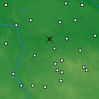 Nearby Forecast Locations - Łęczyca - Χάρτης