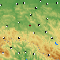 Nearby Forecast Locations - Krosno - Χάρτης