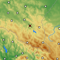Nearby Forecast Locations - Lesko - Χάρτης