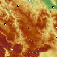 Nearby Forecast Locations - Sjenica - Χάρτης