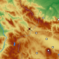Nearby Forecast Locations - Dimitrovgrad - Χάρτης