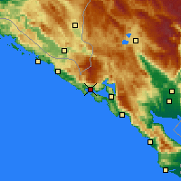Nearby Forecast Locations - Herceg Novi - Χάρτης