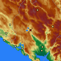 Nearby Forecast Locations - Νίκσιτς - Χάρτης