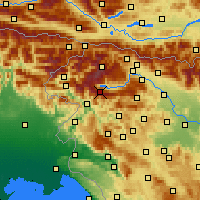 Nearby Forecast Locations - Vogel - Χάρτης