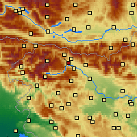 Nearby Forecast Locations - Bled - Χάρτης