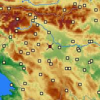 Nearby Forecast Locations - Medvode - Χάρτης
