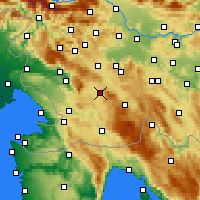 Nearby Forecast Locations - Postojna - Χάρτης