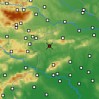 Nearby Forecast Locations - Krapina - Χάρτης