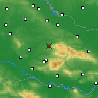 Nearby Forecast Locations - Daruvar - Χάρτης