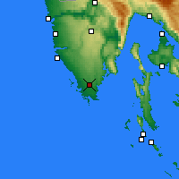 Nearby Forecast Locations - Πούλα - Χάρτης