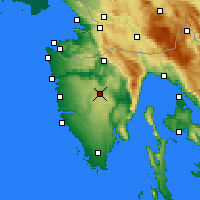 Nearby Forecast Locations - Pazin - Χάρτης