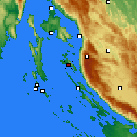 Nearby Forecast Locations - Ραμπ - Χάρτης