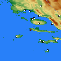 Nearby Forecast Locations - Χβαρ - Χάρτης