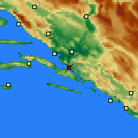 Nearby Forecast Locations - Neum - Χάρτης
