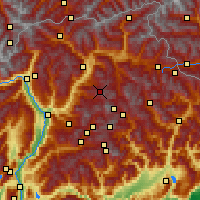 Nearby Forecast Locations - Seiser Alm - Χάρτης