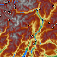Nearby Forecast Locations - Val di Sole - Χάρτης