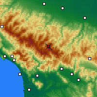 Nearby Forecast Locations - Monte Cimone - Χάρτης