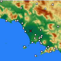 Nearby Forecast Locations - Grazzanise - Χάρτης