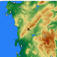 Nearby Forecast Locations - Macomer - Χάρτης